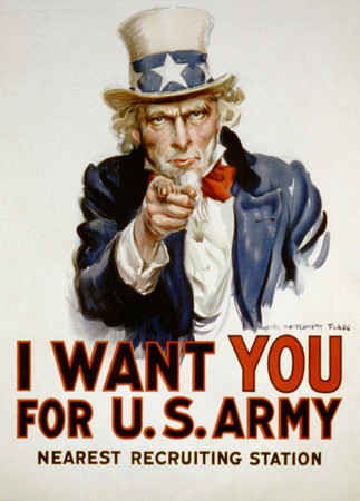 Free Photo: Uncle Sam - I Want You For US Army - Uncle Sam Photos.com